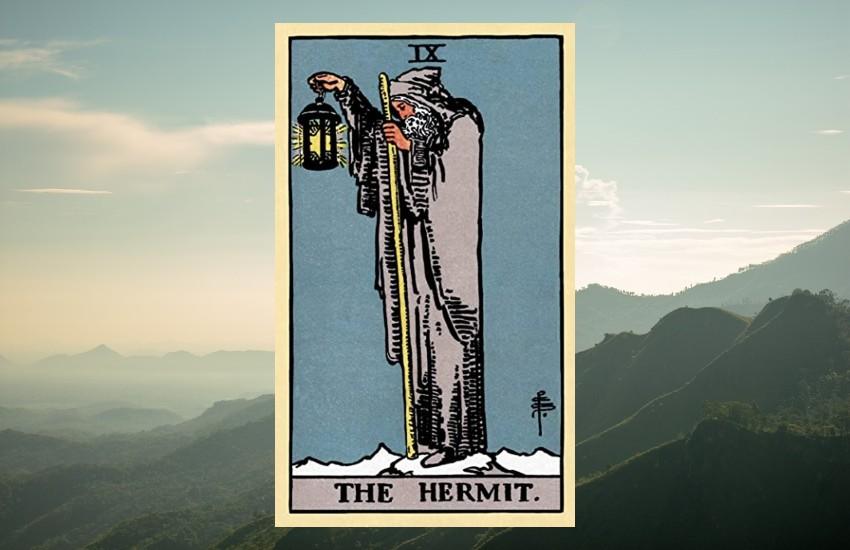 El Ermitaño y su significado en el tarot