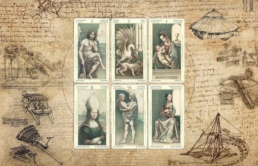 El tarot Da Vinci: las cartas que combinan arte y enigma