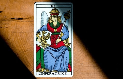 Colores de las cartas del tarot
