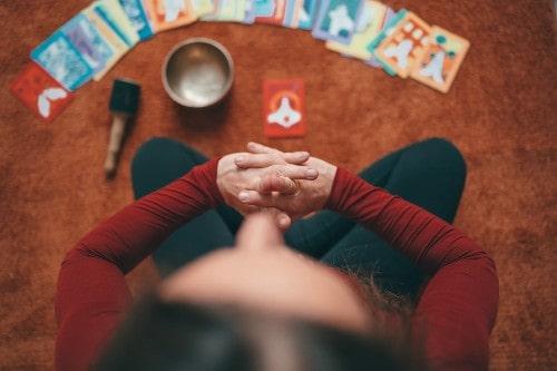 Meditación para conectar con las cartas